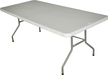 mesas plegables de 200x90cm para uso profesional 34
