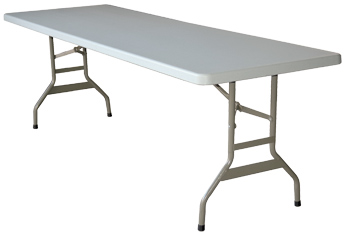 Mesas plegables de 244x76cm para uso profesional 34 for Mesa plegable plastico