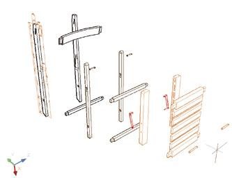 Sillas plegables de madera para uso profesional classic - Silla de pescar ...